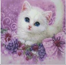 """Набор алмазной мозаики """"Милый котенок"""""""