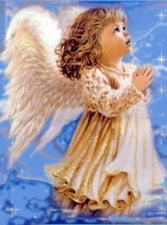 """Набор алмазной вышивки """"Молитва ангела"""""""