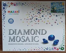 """Набор алмазной мозаики """"Маки и горы"""""""
