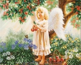Набор алмазной мозаики Райские яблочки