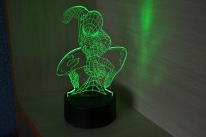 3D ночник Человек-Паук