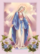 """Набор алмазной мозаики """"Благословение Божьей Матери"""""""
