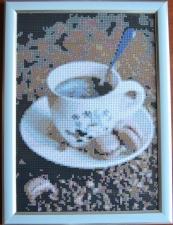 """Набор алмазной мозаики """"Утренний кофе по-французски"""""""