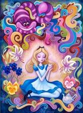 """Набор алмазной вышивки """"Алиса в стране чудес"""""""