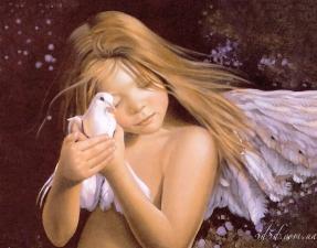 """Набор алмазной вышивки """"Ангел Мира"""""""
