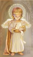 """Набор алмазной вышивки """"Ангел со свечой"""""""