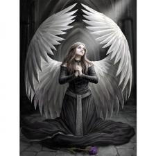 """Набор алмазной вышивки """"Ангел во тьме"""""""