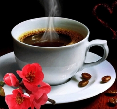 """Набор алмазной мозаики """"Ароматный кофе"""""""