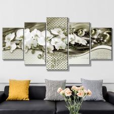"Набор алмазной мозаики ""nabor-almaznoy-mozaiki-belye-orhidei-triptih"""