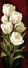 """Набор алмазной вышивки """"Белые тюльпаны"""""""