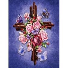 """Набор алмазной мозаики """"Благодарение. Крест"""""""