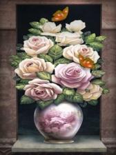 """Набор алмазной мозаики """"Благородные розы"""""""