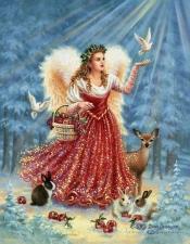 """Набор алмазной мозаики """"Благословение ангела"""""""