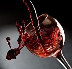 """Набор алмазной вышивки """"Бокал красного вина"""""""