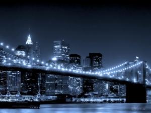 """Набор алмазной вышивки """"Бруклинский мост в Нью-Йорке"""""""