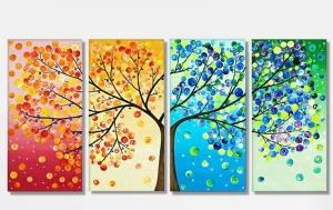 """Набор алмазной мозаики """" Дерево-символ жизни, развития, роста"""""""