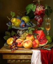 """Набор алмазной мозаики """"Фрукты и ягоды. Натюрморт"""""""