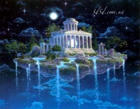 """Набор алмазной мозаики """"Храм Небес"""""""