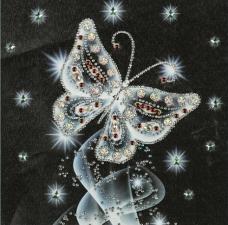 """Набор алмазной вышивки """"Хрустальная бабочка"""""""