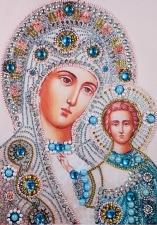 """Набор алмазной мозаики """"Казанская Пресвятая Богородица"""""""
