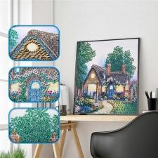 """Набор алмазной мозаики """"Лесной домик"""""""