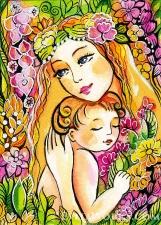 """Набор алмазной мозаики """"Материнская ласка"""""""