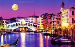 """Набор алмазной вышивки """"Мост Риальто. Венеция"""""""