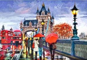 """Набор алмазной мозаики """"Осень в Лондоне"""""""