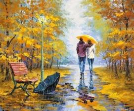 """Набор алмазной мозаики """"Осень в парке"""""""