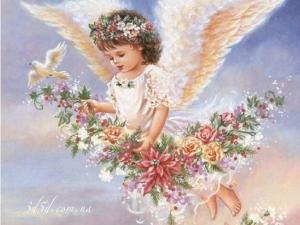 Набор алмазной мозаики Радость ангела
