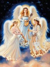 """Набор алмазной мозаики """"Радость ангелов"""""""