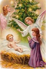 """Набор алмазной вышивки """"Рождественское благословение"""""""