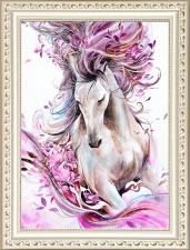 """Набор алмазной вышивки """"Романтичная лошадка"""""""