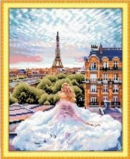 "Набор алмазной мозаики ""Романтика. Эйфелева башня"""