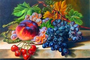 """Набор алмазной мозаики """"Сочные фрукты"""""""