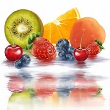 """Набор алмазной вышивки """"Сочные фрукты и ягодки"""""""