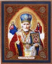 """Набор алмазной вышивки """"Св. Николай Чудотворец"""""""
