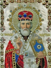"""Набор алмазной вышивки """"Святой Николай Чудотворец"""""""