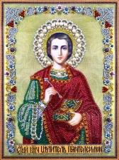 """Набор алмазной мозаики """"Святой Пантелеимон"""""""