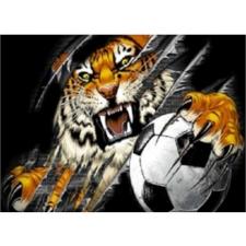 """Набор алмазной вышивки """"Тигр в футболе"""""""