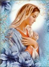 """Набор алмазной вышивки """"Умиление. Дева Мария"""""""
