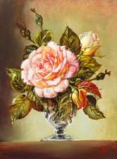 """Набор алмазной мозаики """"В самом цвету. Роза"""""""