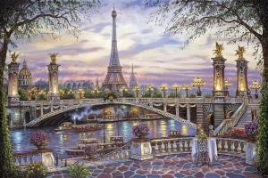 "Набор алмазной мозаики ""Вечерний Париж"""