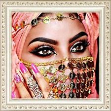 """Набор алмазной мозаики  """"Восточные глаза"""""""