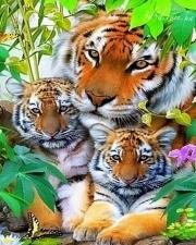 """Набор алмазной вышивки """"Тигрица с тигрятами"""""""