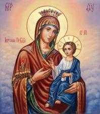 """Набор алмазной мозаики """"Иверская Пресвятая Богородица"""""""