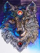 """Набор алмазной вышивки """"Волк - высший символ свободы и чистоты"""""""