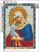 """Набор алмазной мозаики """"Образ Богородицы Взыскание Погибших"""""""